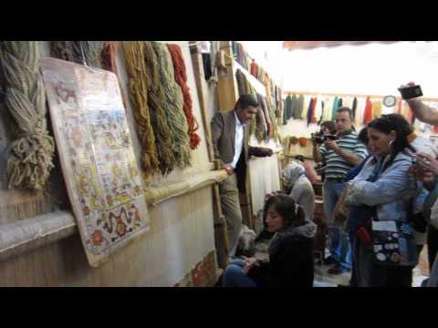 Viaje a Turquía. Cómo se hacen las alfombras?