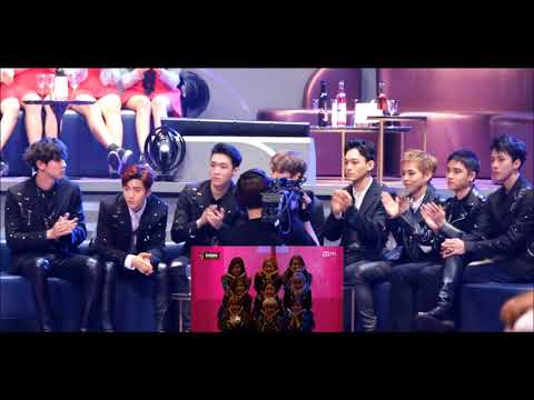 Download Hd 161202 Exo Reaction To Twice Stage Cute Fanboys