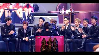 EXO Reaction To TWICE - CHEER UP + TT In MAMA 2016