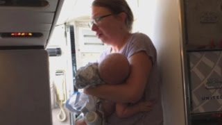 Mom Who Says Baby Overheated on United Plane: