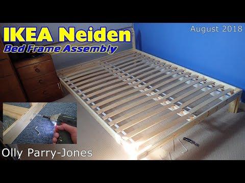 Ikea Neiden Bed Frame Aseembly