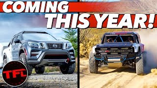 Here Are The Top 10 New Truck Debuts Coming in 2020 That We Can't Wait To See!