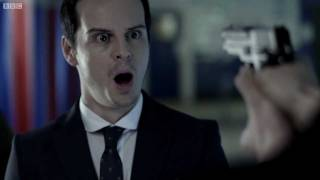 12 Days of Sherlock - Day 3 - Confronting Moriarty - BBC
