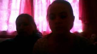 Melissa Holt & Dani Stiller singing imagine by dj ironik