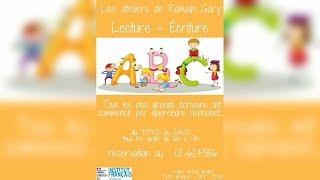 Actuculture#222 - Les ateliers de Romain Gary, pour toute la famille