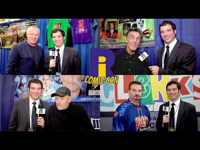 Rhode Island Comic Con 2019 - Celebrity Interviews & More!