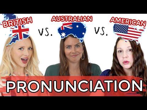1 LANGUAGE, 3 ACCENTS! UK vs. USA vs. AUS English Pronunciation!