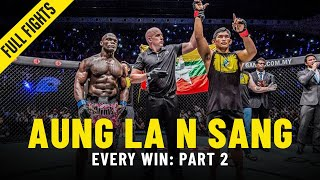 Every Aung La N Sang Win: Part 2 | ONE Full Fights