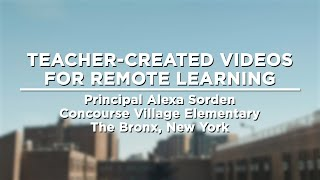 Teacher-Created Videos for Remote Learning