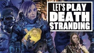 Let's Play Death Stranding Gameplay - LET'S MEETUS THE FOETUS OF NORMAN REEDUS!