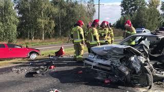Wideo1: Wypadek na obwodnicy Święciechowy