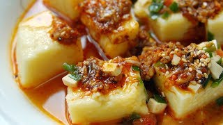 【小胖在西北】西北农村懒人饭,玉米面锅里一倒,大刀一挥,3大碗不够吃