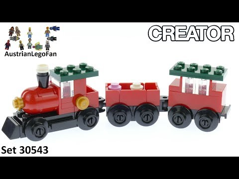 Vidéo LEGO Creator 30543 : Christmas Train (Polybag)
