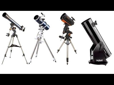 Tipos de Telescópios - Qual Comprar?