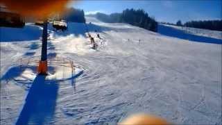 preview picture of video 'Skifahren/Skijanje/Skiing Semmering/Stuhleck'