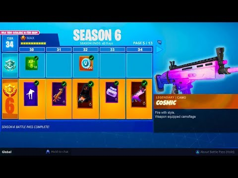 new season 6 battle pass leaked fortnite battle royale season 6 leaked info - fortnite season 8 battle pass rewards leaked