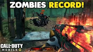 I Got the Zombies Survival Record on my First Ever Match! (14,164,576 Score)