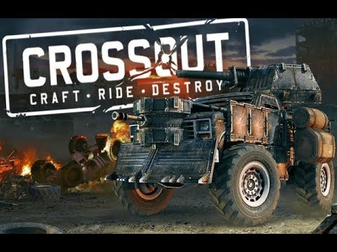 Crossout Kill enemies in the car with machine guns