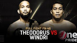 Title Fight Welterweight! Theodorus Ginting vs Windri Patilima | Full Fight One Pride MMA FN 46
