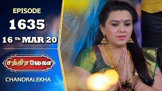 CHANDRALEKHA Serial   Episode 1635   16th Mar 2020   Shwetha   Dhanush   Nagasri   Arun   Shyam