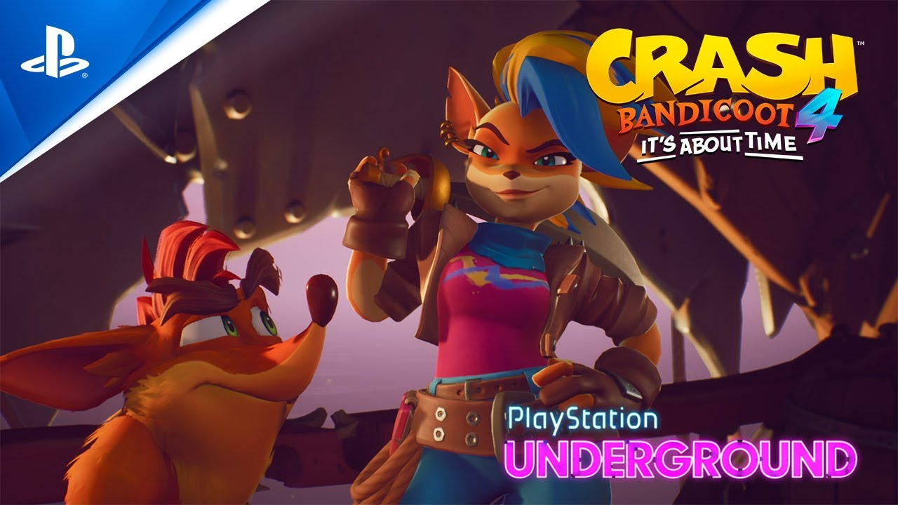 Crash Bandicoot 4: It's About Time : Découvrez le gameplay de Tawna