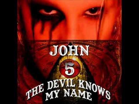 John 5 - Black Widow Of La Porte online metal music video by JOHN 5