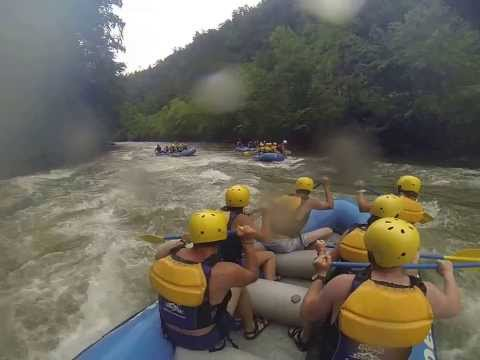 Crazy Ocoee Whitewater raft guide