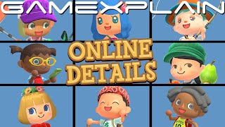 8 Players, 1 Island! NEW Online Details for Animal Crossing: New Horizons Multiplayer Revealed!