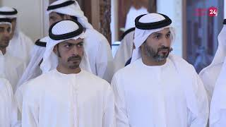 Mohamed bin Zayed receives UAE Desert Challenge Team