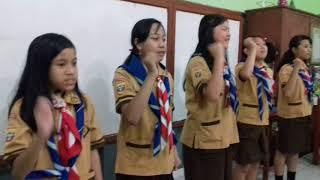 Pramuka  Gudep 02.027  -  02.028  SD XAVERIUS 2 Palembang Dlm Kegiatan 24-24 Mart 2018