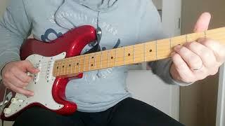 Mark Knopfler Style Improvisation (Ingo Raven's backing track 'Follow Me Home')