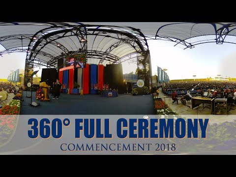 Commencement 2018⎪360° Full Ceremony