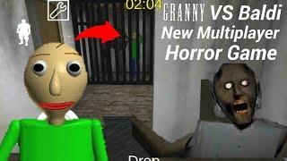 Granny Kidnapped Baldi!New Granny VS Baldi Multiplayer Horror Game(Mission 1)