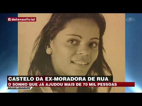 Fabio Goleio participa de Matéria no Brasil Urgente da Band - Sonho de ex-moradora de rua vira ajuda para 70 mil pessoas