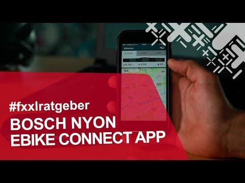 Bosch Nyon - E-Bike Connect App und Portal