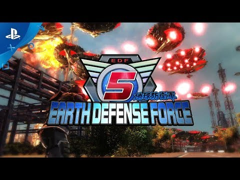 Earth Defense Force 5 - 1st Trailer | PS4 thumbnail