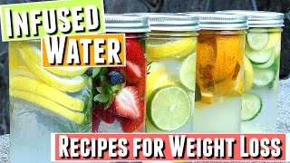 Fruit INFUSED WATER RECIPES To LOSE WEIGHT, Infused Water For WEIGHT LOSS Recipes, Infused Water