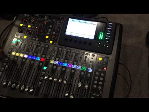 Behringer x32 Compact - Tutorial 1: Setup and Layout