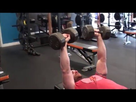 Key Press with Dumbbells