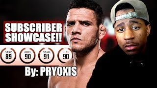 Subscriber Showcase! | Xbox Striker Pryoxis As Rafael Dos Anjos!