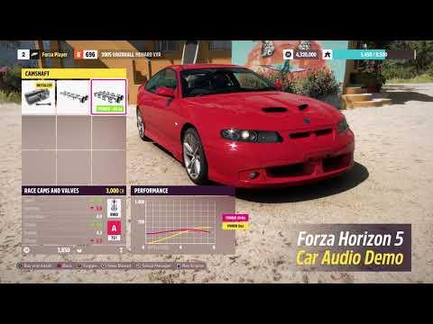 Forza Horizon 5: Audible Upgrades Preview de Forza Horizon 5