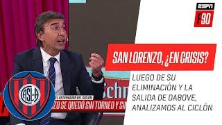 ¿Quién es responsable del mal momento de #SanLorenzo? #ESPNF90 analiza el presente del #Ciclón