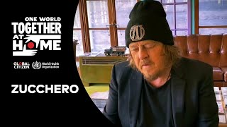 """Zucchero performs """"Everybody's Gotta Learn Sometime""""  