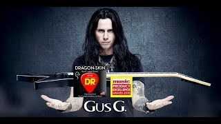 GUS G TALKS DRAGON SKIN ELECTRIC STRINGS