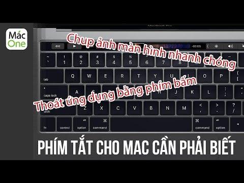 Những Tổ Hợp Phím tắt cho Macbook - Mac OS cần phải biết