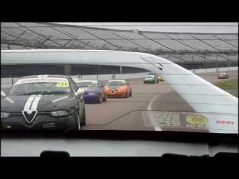 Rockingham 2016 – Race 1 – Dave Messenger – Rear View