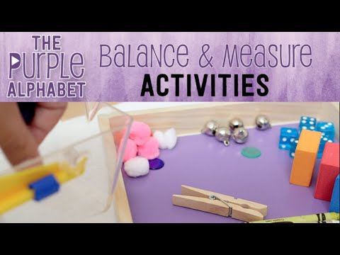 Fun Activities for Measurement and Balance