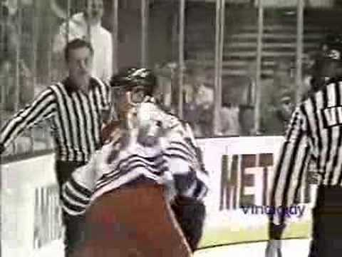 Chris Nilan vs. Terry Carkner