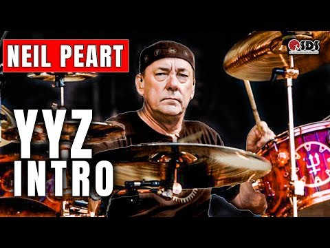 "Neil Peart Drum Intro ""YYZ"" Breakdown 