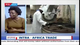Is Africa trading less with itself compared to how it trades with the rest of the world?